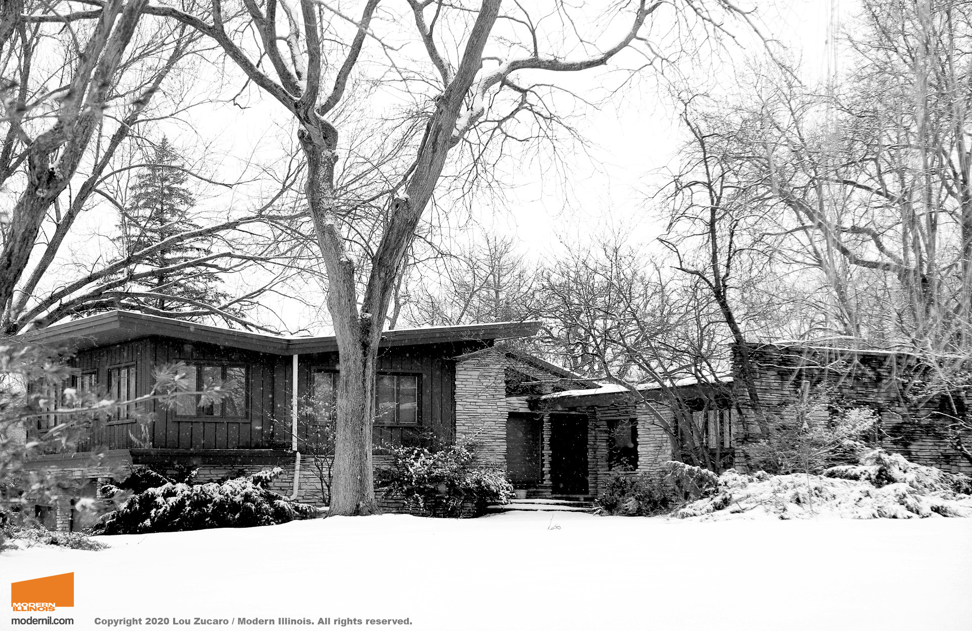 Architect: Joel Hillman. @ Copyright 2020 Lou Zucaro / Modern Illinois. All rights reserved. modernil.com