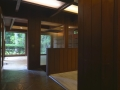 Inside the entry foyer
