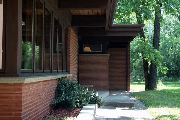 Deep overhangs are 4' - 8' in various parts of the home.