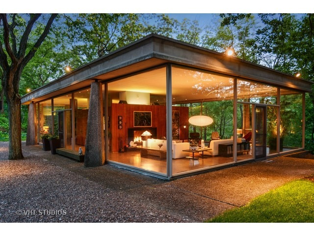 SOLD! Absolutely Stunning Glass House by H.P. Davis Rockwell in ...