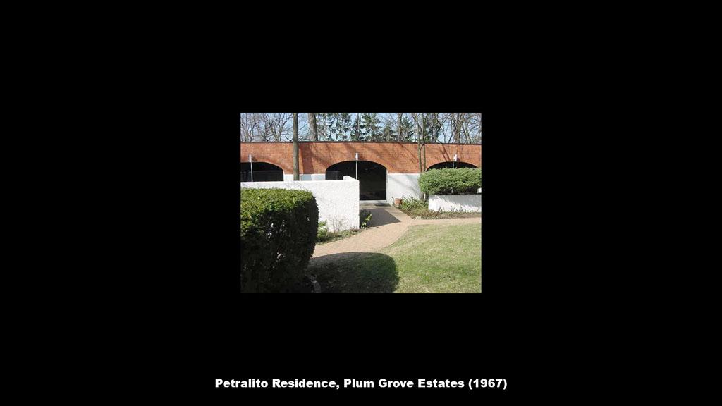 Petralito Residence, Plum Grove Estates (1967) - Ronald Petralito - Architectural Designer