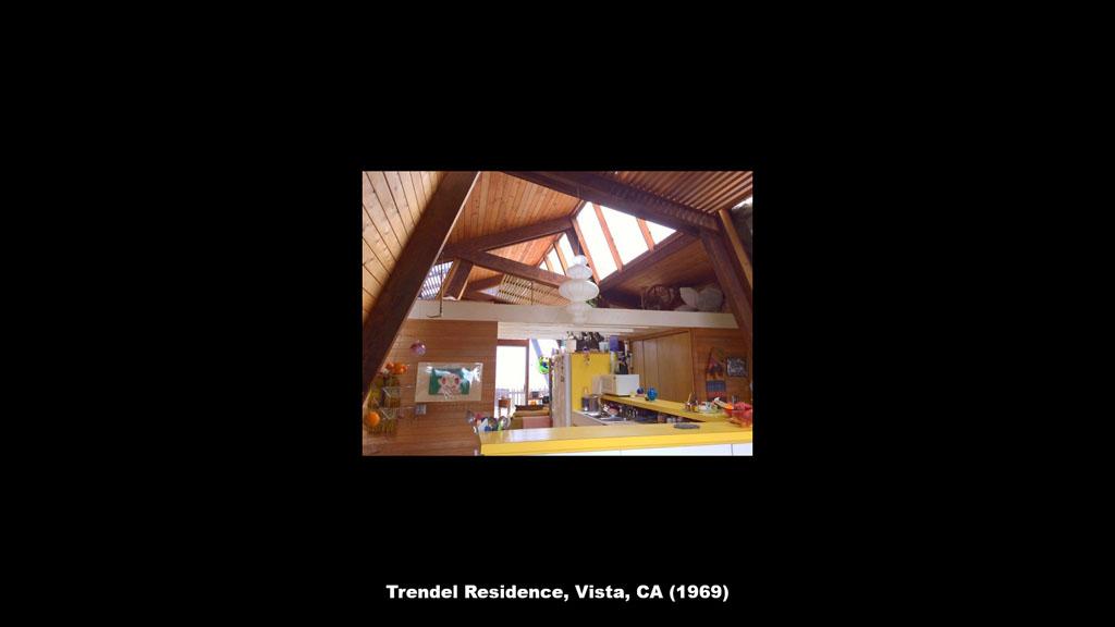 Trendel Residence, Vista, CA (1969) - Ronald Petralito - Architectural Designer