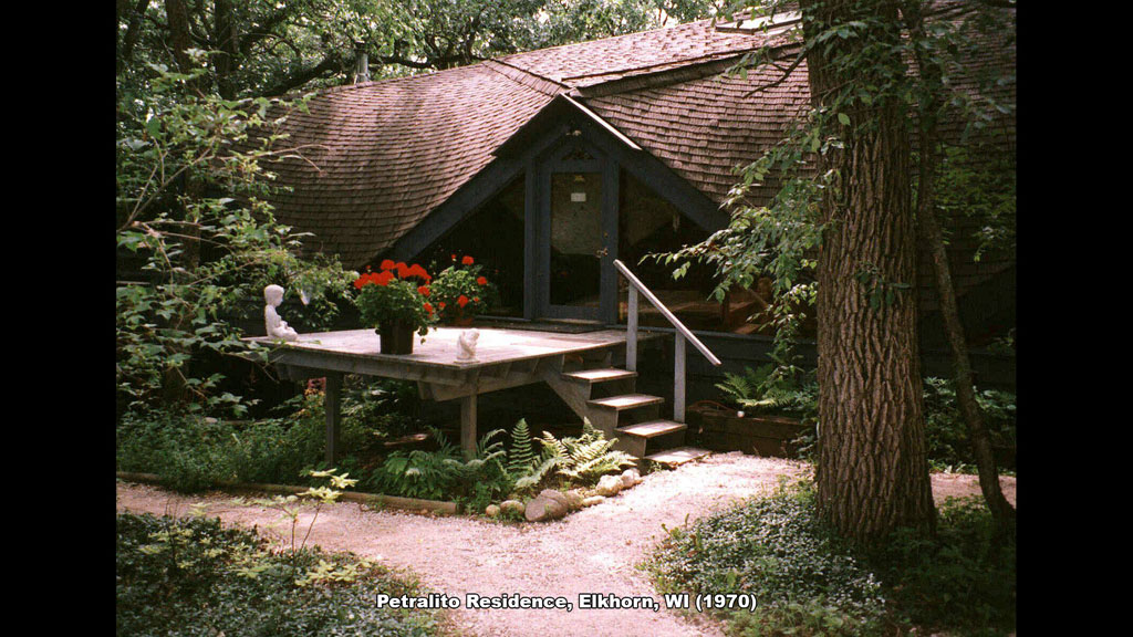 Petralito Residence, Elkhorn, WI (1970) - Ronald Petralito - Architectural Designer