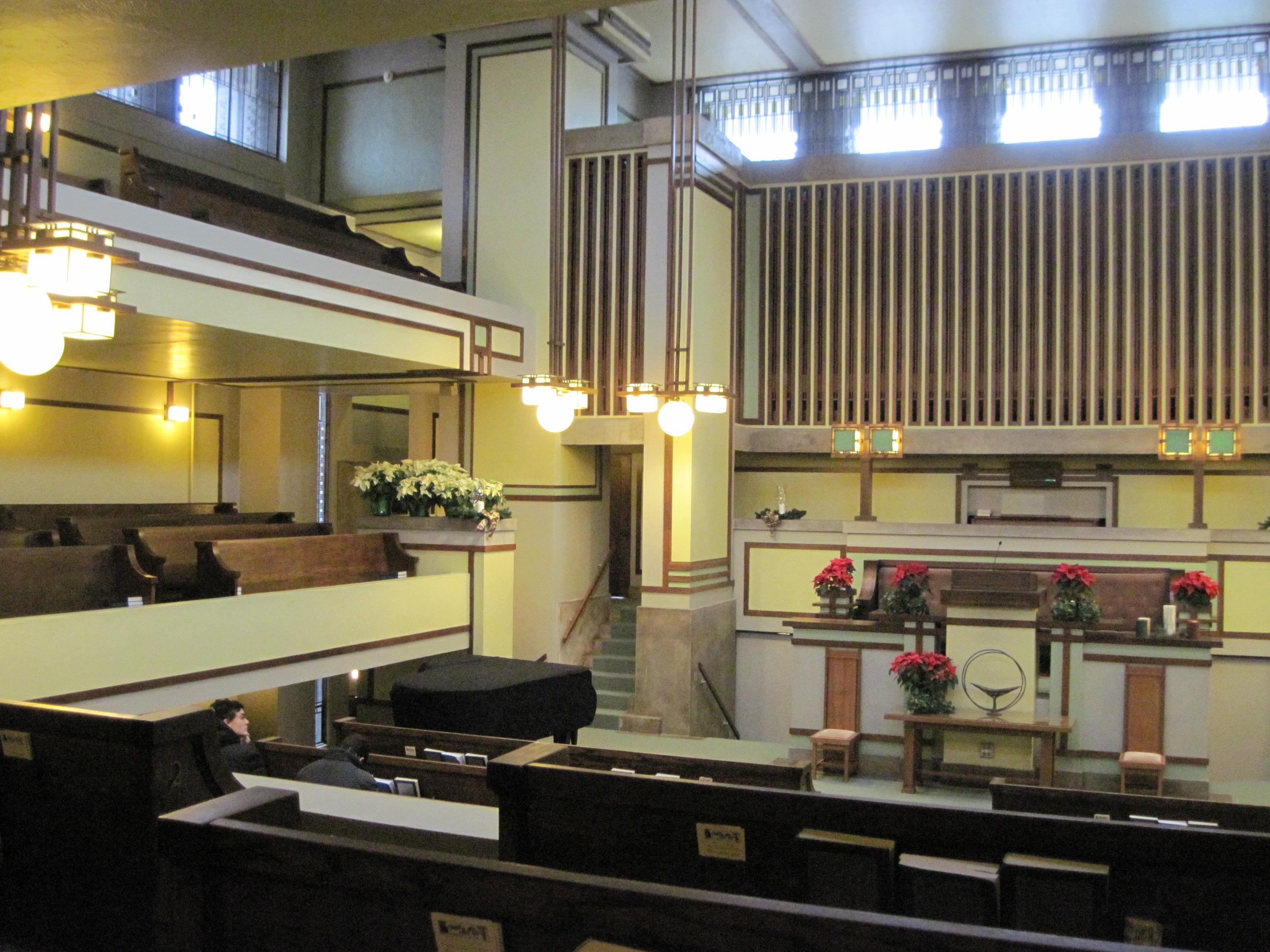 Frank Lloyd Wright's Unity Temple