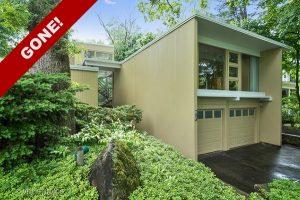 GONE! 2-Story Mid-Century Modern Cedar & Brick Home in Glencoe