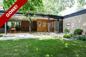 GONE! Brick, Glass & Steel Ranch by A. James Speyer in Highland Park!