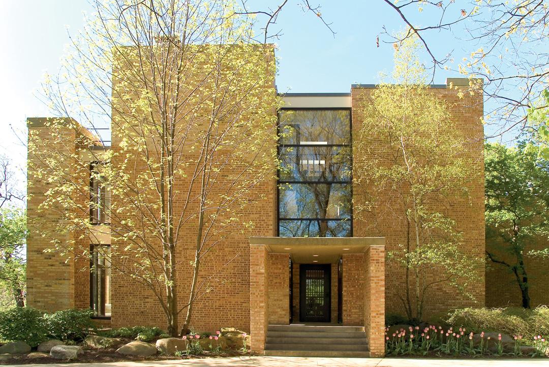 Spectacular Brick Home Designed By Edward Dart In Barrington Hills