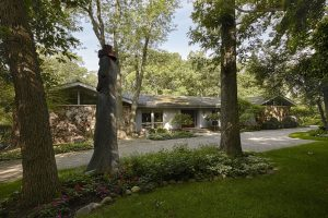 Woodsy California Ranch by Charles Page in Lake Forest