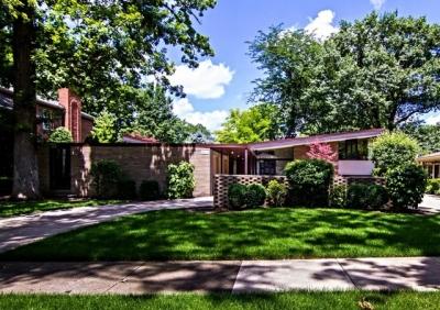Park Ridge Mid-Century Modern home by Louis Huebner