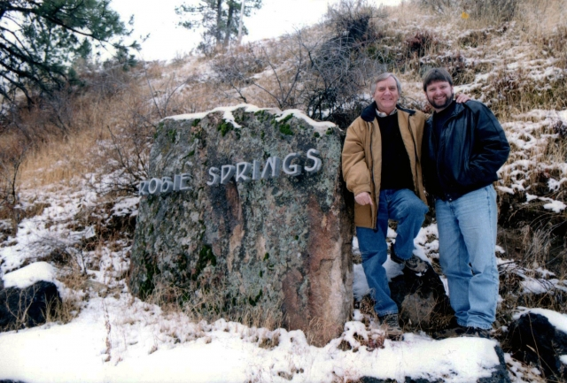 Dennis Stevens with son & business partner Sean outside their Robie Springs development in Boise, ID