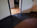 Flooring pattern in the master