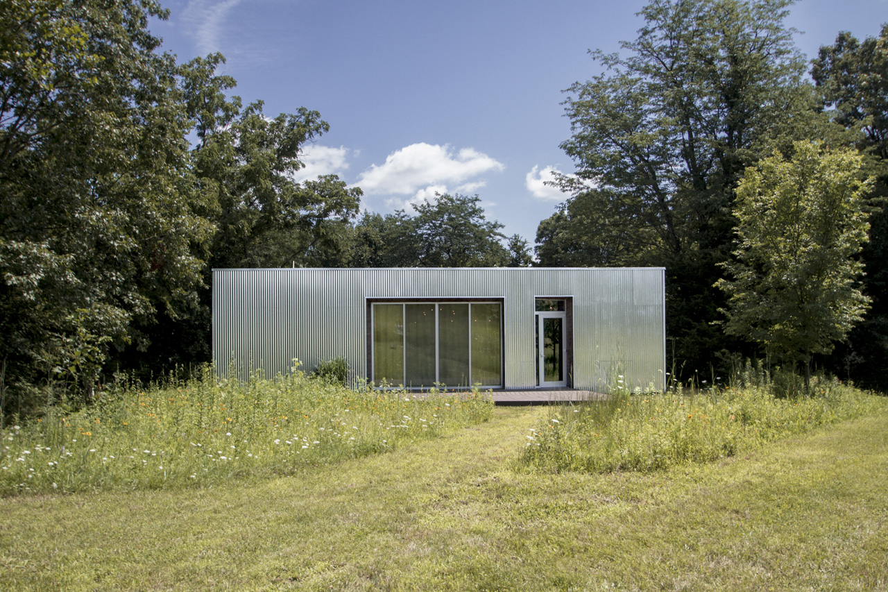 A one-of a kind modern home in the beautiful Illinois River Valley town of Hennepin