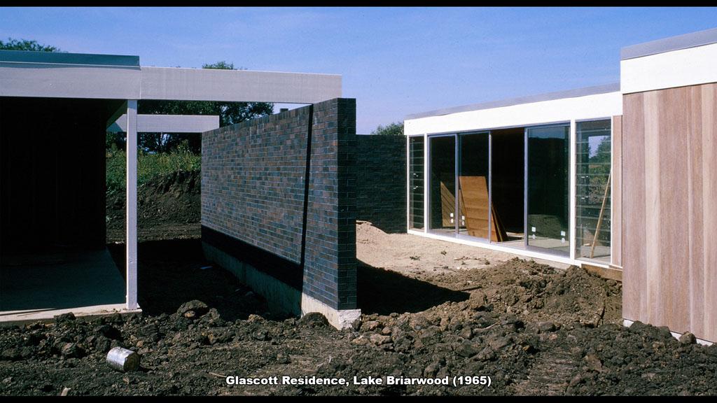 Glascott Residence, Lake Briarwood (1965) - Ronald Petralito - Architectural Designer