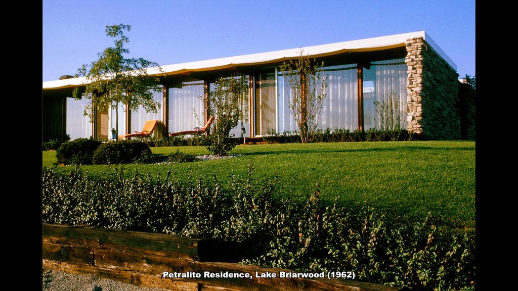 Petralito Residence, Lake Briarwood (1962) - Ronald Petralito - Architectural Designer