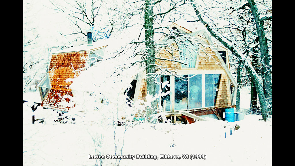 Lorien Community Building, Elkhorn, WI (1969) - Ronald Petralito - Architectural Designer