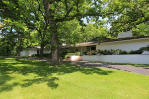 SOLD! Sprawling, Expanded Brick Split Level by Dennis Blair in Long Grove