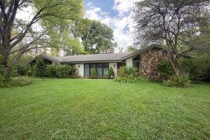 Late '60s Stone & Cedar Ranch in Riverwoods